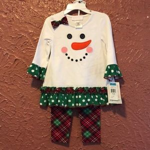 NWT Bonnie Baby outfit 24M